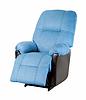 蓝现代扶手椅 | 免版税照片