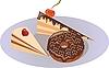 Векторный клипарт: пирожные