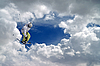 Freestyle ski jumper | Stock Foto