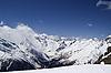 Góry Kaukazu, Dombay | Stock Foto