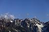 Góry Kaukazu w Swanetia | Stock Foto