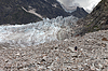 远足冰川冰碛   免版税照片