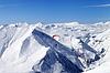 Prędkość jazdy w górach Kaukazu | Stock Foto