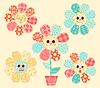 Application flowers set