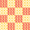 Vector clipart: Seamless patchwork pattern