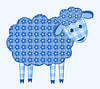 Vector clipart: Application sheep