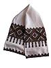 传统的乌克兰绣毛巾   免版税照片