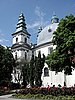 Dominican Church in Ternopil | Stock Foto
