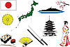 Vector clipart: Japan clipart