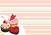 Vector clipart: cakes