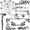 Vector clipart: art nouveau decoration