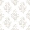 Vector clipart: Seamless light floral wallpaper