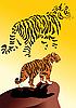 Vector clipart: Tiger