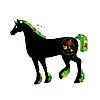 Vector clipart: Summer horse