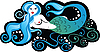 Vector clipart: mermaid