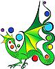 ID 3127295 | Зеленый дракон | Векторный клипарт | CLIPARTO