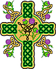 Vector clipart: celtic cross