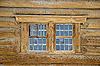 Fragment of old wooden house | Stock Foto