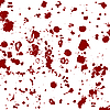 Blood splatters | Stock Vector Graphics