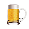 Mug of beer | Stock Vector Graphics