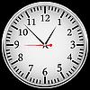 Vector clipart: mechanical clock