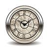 Vector clipart: Antique clock