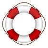 Vector clipart: lifebelt