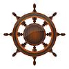 Vector clipart: ship wheel
