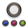 Vector clipart: buttons