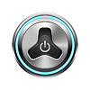 Vector clipart: Power button