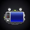 Vector clipart: Control panel