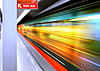 High speed train | Stock Foto