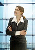 Businesswoman in modern office | Stock Foto
