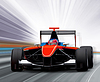 Formula one race car | Stock Foto
