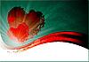 Фото 300 DPI: валентинка с сердечками