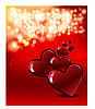 ID 3126206 | Valentine`s day card with hearts | High resolution stock illustration | CLIPARTO