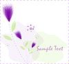 Vektor Cliparts: Abstrakte Blumen