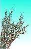 Vector clipart: spring tree