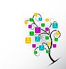 Vector clipart: tree