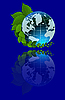 Vector clipart: global
