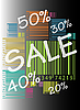 Vector clipart: Bar Code Sale Discount