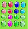 Vector clipart: web button