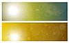 Vector clipart: sky and sun