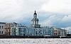 在圣彼得堡Kunstkamera | 免版税照片