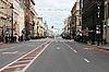 在圣彼得堡的涅夫斯基大道 | 免版税照片
