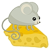 Vector clipart: Happy Mouse