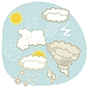 Vector clipart: Weather Set