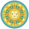 Daylight Mandala | 向量插图