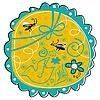 Векторный клипарт: Сезонные Doodle