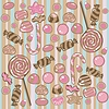 Vector clipart: Seamless Candy Pattern